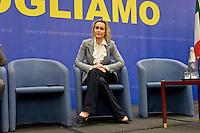 Roma, 29 Marzo 2015<br /> Convention di Forza Italia: Roma l'Italia e l'Europa che vogliamo. Deborah Bergamini, responsabile comunicazione di Forza Italia.<br /> Rome, March 29, 2015<br /> Convention  of Forza Italy: Rome the Italy and Europe that we want. Deborah Bergamini, communications manager of Forza Italy.