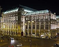 Staatsoper by Night, Vienna