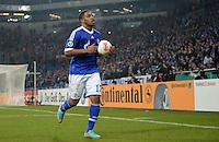 FUSSBALL   DFB POKAL    SAISON 2012/2013    ACHTELFINALE FC Schalke 04 - FSV Mainz 05                          18.12.2012 Jefferson Farfan (FC Schalke 04)  ist enttaeuscht