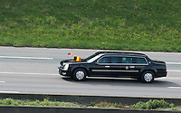 President Barack Obama's first visit to Belgium, with extremely high security - Belgium