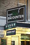 'The Encounter' - Theatre Marquee