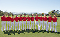 Stanford Golf M Portraits and Team Photo, September 28, 2016