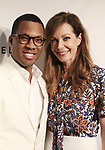 Corey Hawkins and Allison Janney attends the 83rd Annual Drama League Awards Ceremony  at Marriott Marquis Times Square on May 19, 2017 in New York City.