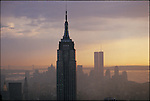 View from the North, with the Empire State Building, April 1986...1986 © Dilip MEHTA / CONTACT Press Images