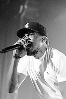 Chance the Rapper in concert at the Olympia - Montreal, October 21,2015<br /> <br /> PHOTO :  Philippe Manh Nguyen<br />  - Agence Quebec Presse