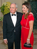 Lorne Michaels, Executive Producer, Saturday Night Live, and Alice Michaels arrive for the State Dinner in honor of Prime Minister Trudeau and Mrs. Sophie Gr&eacute;goire Trudeau of Canada at the White House in Washington, DC on Thursday, March 10, 2016.<br /> Credit: Ron Sachs / Pool via CNP