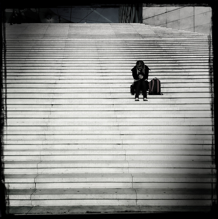 Steps, La Defence, Paris, France