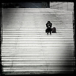 Steps, La Defence, Paris, France