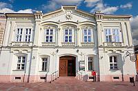 Post Office - Bischitzky - Muller Haz - 1863 Romantic style building. Esztergom, Hungary