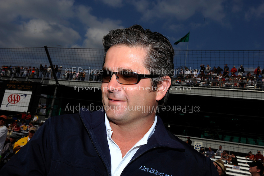 10-18 May 2008, Indianapolis, Indiana, USA. Gil deFerran, 2003 Indy 500 winner..©2008 F.Peirce Williams USA.