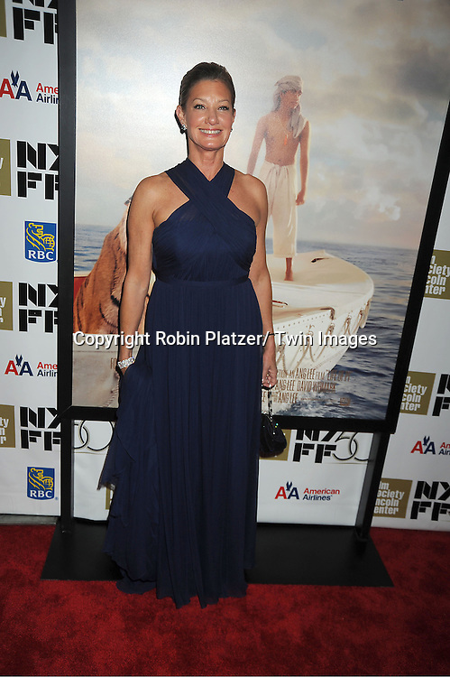 """Elizabeth Gabler attends the 50th Annual New York Film Festival Opening Night Gala presentation of """"Life of Pi"""" starring Suraj Sharma and directored by Ang Lee on September 28, 2012 in New York City. The screening was at Alice Tully Hall at Lincoln Center."""