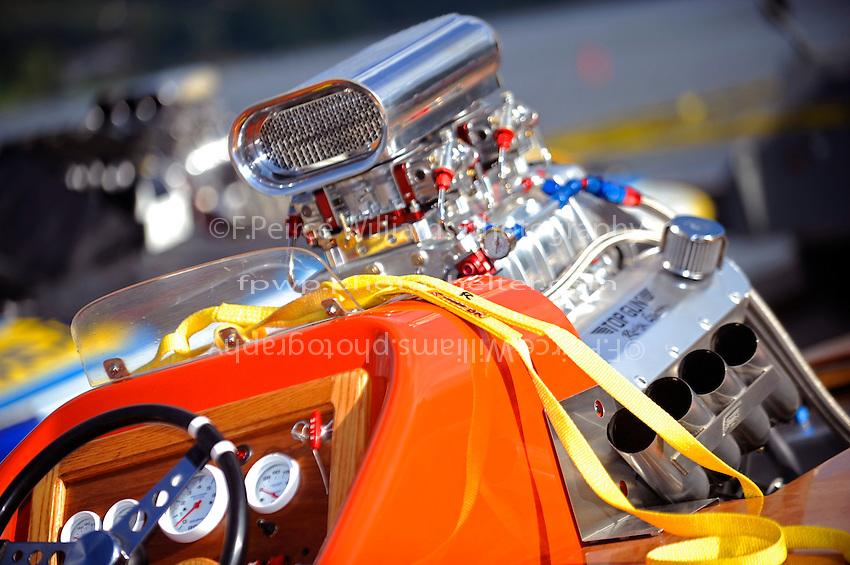 "Engine,  H-909 ""Miss Windy"" (1966 Staudacher 7 Litre Div.I hydroplane)"
