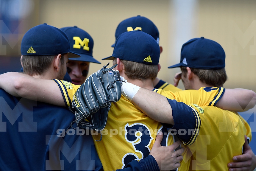 Michigan baseball defeats Rutgers, 12-5, Sunday, May 8, 2016, at Ray Fisher Stadium in the Wilpon Baseball Complex.