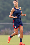 18 August 2014: Carli Lloyd. The United States Women's National Team held a training session on Field 4 at WakeMed Soccer Park in Cary, North Carolina.