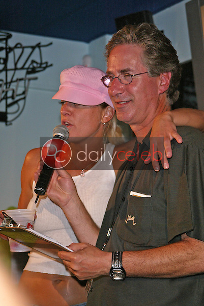 Jack Silver and Heidi Hamilton<br /> at the Beck's Beer &quot;Perfect Pair&quot; Contest, Big Wangs, Hollywood, CA 07-15-05<br /> Jason Kirk/DailyCeleb.com 818-249-4998