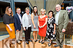 Enjoying the Tralee Musical Society 30th anniversary Gathering at Ballyroe Heights Hotel on Saturday were Anna Curtin, Johnny Burrows, Kathleen Burrows, Jemma Hurley, Diana Curtin, Ena O'Shea and John O'Shea