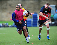 Aled Brew of Bath Rugby in action. Bath Rugby training session on November 22, 2016 at Farleigh House in Bath, England. Photo by: Patrick Khachfe / Onside Images
