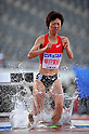 Minori Hayakari (JPN),.APRIL 28, 2011 - Athletics : The 46th Mikio Oda Memorial athletic meet, JAAF Track &amp; Field Grand Prix Rd.3, during Women's 3000mSC final at Hiroshima Kouiki Kouen (Hiroshima Big arch), Hiroshima, Japan. (Photo by Jun Tsukida/AFLO SPORT) [0003].