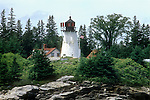 Burnt Island Light , Boothbay Harbor, ME