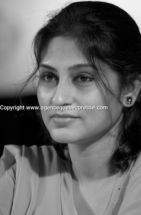 August 29,  2003, Montreal, Quebec, Canada<br /> <br /> Rupa Ganguli, actress<br /> at the Press conference for the movie IN THE FOREST... AGAIN<br />  presented in the official competition of the 2003 World Film Festival<br /> <br /> The Festival runs from August 27th to september 7th, 2003<br /> <br /> <br /> Mandatory Credit: Photo by Pierre Roussel- Images Distribution. (&copy;) Copyright 2003 by Pierre Roussel <br /> <br /> All Photos are on www.photoreflect.com, filed by date and events. For private and media sales