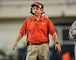 Lafayette High coach Anthony Hart vs. Laurel in the MHSAA Class 4A championship game at Mississippi Veterans Memorial Stadium in Jackson, Miss. on Saturday, December 3, 2011. Lafayette won 39-29, the team's 32 straight win, to capture their second consecutive state championship.