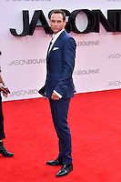 Vinzenz Kiefer at Jason Bourne UK film premiere,the fifth instalment in the Bourne franchise, at Odeon Leicester Square, London, England 11 July 2016.<br /> CAP/JOR<br /> &copy;JOR/Capital Pictures /MediaPunch ***NORTH AND SOUTH AMERICAS ONLY***