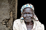 Rachel Nyoka, a woman in the village of Pisak, in Central Equatoria State in Southern Sudan. Nyoka is a United Methodist.