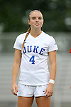 30 August 2015: Duke's Ashton Miller. The Duke University Blue Devils hosted the William & Mary University Tribe at Koskinen Stadium in Durham, NC in a 2015 NCAA Division I Women's Soccer game. Duke won the game 2-0.