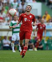 Fussball 1. Bundesliga :  Saison   2012/2013   1. Spieltag  25.08.2012 SpVgg Greuther Fuerth - FC Bayern Muenchen Thomas Mueller (FC Bayern Muenchen)