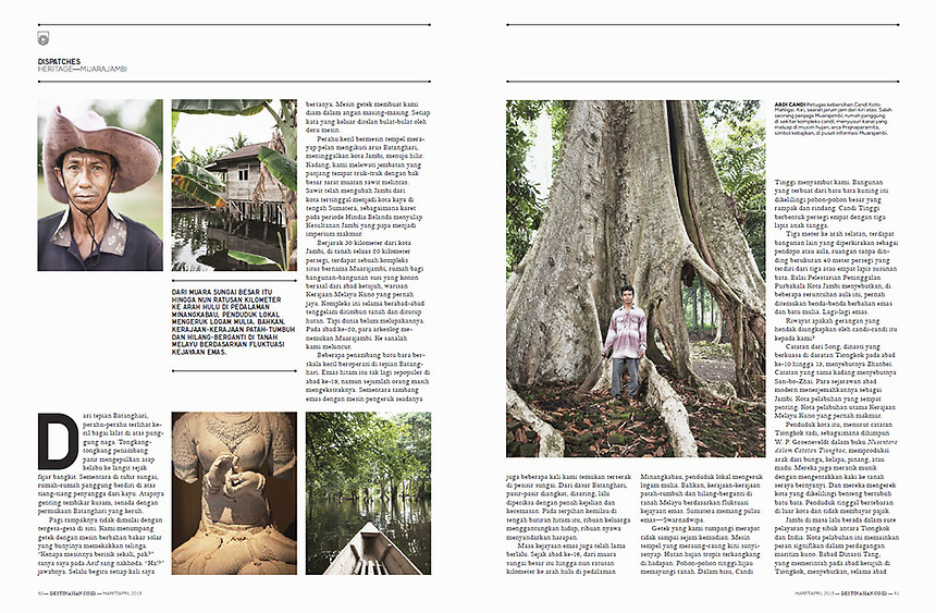 Muara Jambi reportage on DestinAsian Indonesia May April 2013 Edition