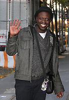 NEW YORK, NY - NOVEMBER 14: 'RuPaul's Drag Race' season 8 winner Bob the Drag Queen (Christopher Caldwell) spotted in New York, New York on November 14, 2016.  Photo Credit: Rainmaker Photo/MediaPunch
