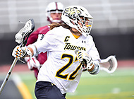 Towson, MD - May 6, 2017: Towson Tigers Ryan Drenner (22) in action during CAA Championship game between Towson and UMASS at Minnegan Field at Johnny Unitas Stadium  in Towson, MD. (Photo by Phillip Peters/Media Images International)