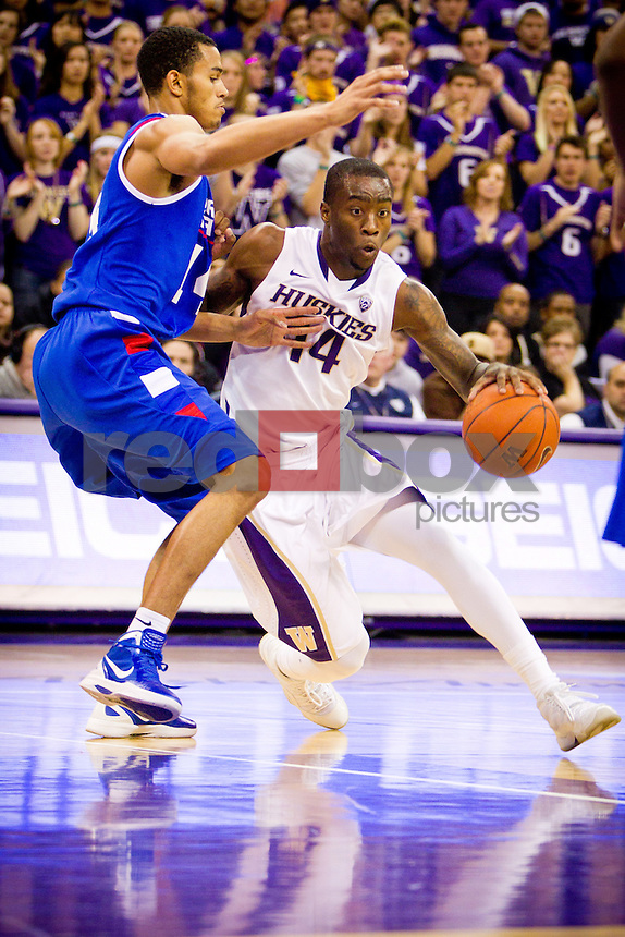 Tony Wroten - UW Men's Basketball vs. Georgia State. Photo by Rob Sumner / Red Box Pictures.