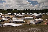 Vlieland - kampeerterrein Stortemelk - camping met tenthuisjes (vakantiewoningen)