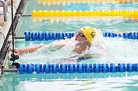 Santa Clara, California - Saturday June 4, 2016: Josh Prenot races in the Men's 200 LC Meter Breaststroke at the Arena Pro Swim Series at Santa Clara, Prenot set the fastest time for the morning at 2:17.73.
