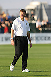 07 December 2007: Notre Dame head coach Randy Waldrum. The Florida State Seminoles defeated the University of Notre Dame Fighting Irish played 3-2 at the Aggie Soccer Stadium in College Station, Texas in a NCAA Division I Womens College Cup semifinal game.