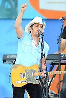 NEW YORK, NY - June 24 : Brad Paisley performs in Central Field at Rumsey Playfield as part of the Good Morning America Summer Concert Series on June 24 in New York City.<br />  Photo Credit:John Palmer/MediaPunch