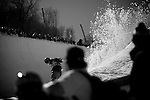 Kevin Pearce at the US Open of Snowboarding, presented by Burton Snowboards is held at Stratton Mountain Resort every March.  This is the halfpipe contest, March 2009.