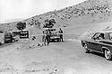 Iraq 1974 <br /> The resumption of hostilities, check point at the entrance of the kurdish region under the control of the peshmergas   <br /> Irak 1974 <br /> La reprise de la lutte arm&eacute;e, un poste de controle a l'entr&eacute;e de la region administr&eacute;e par les peshmergas
