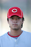 Po-Cheng Chi - AZL Reds - 2010 Arizona League. Photo by:  Bill Mitchell/Four Seam Images..