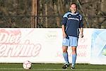 20 March 2009: UNC's Emmalie Pfankuch. The WPS's Sky Blue FC played the University of North Carolina Tar Heels in a preseason game at Macpherson Stadium in Brown's Summit, North Carolina.