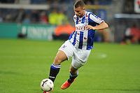 VOETBAL: HEERENVEEN: Abe Lenstra stadion 30-08-2014, SC Heerenveen - FC Utrecht uitslag 3-1, Yanic Wildschut, ©foto Martin de Jong