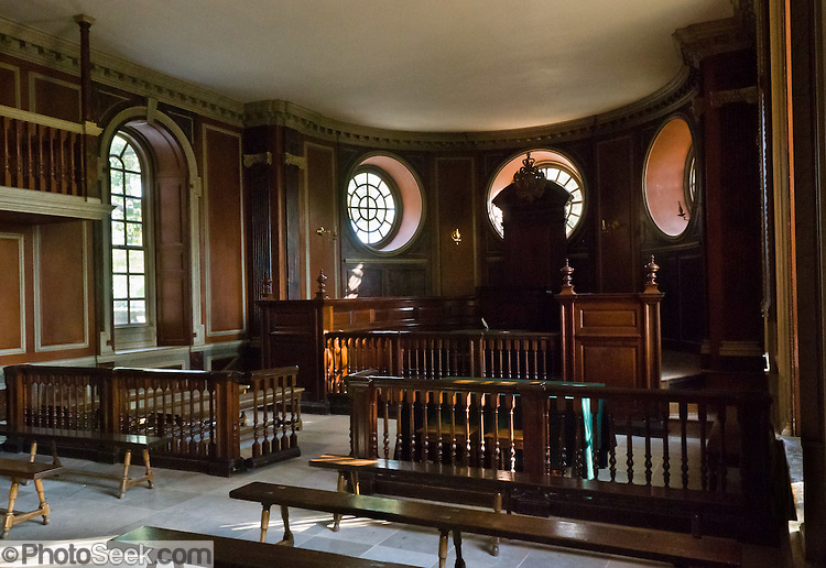 The Courtroom In Capitol Building At Colonial Williamsburg