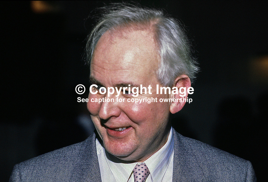 Liam McCollum, QC, barrister, N Ireland. Ref: 1985000501.<br />