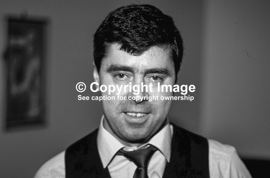 Patsy Fagan, Dublin, Rep of Ireland, snooker player, professional, 198705211PF..Copyright Image from Victor Patterson, 54 Dorchester Park, Belfast, UK, BT9 6RJ..Tel: +44 28 9066 1296.Mob: +44 7802 353836.Voicemail +44 20 8816 7153.Skype: victorpattersonbelfast.Email: victorpatterson@me.com.Email: victorpatterson@ireland.com (back-up)..IMPORTANT: If you wish to use this image or any other of my images please go to www.victorpatterson.com and click on the Terms & Conditions. Then contact me by email or phone with the reference number(s) of the image(s) concerned.