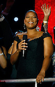 Washington, DC - January 20, 2009 -- United States Queen Latifah attends the Neighborhood Inaugural Ball at the Washington Convention Center on January 20, 2009 in Washington, DC. Obama became the first African-American to be elected to the office of President in the history of the United States.  .Credit: Chip Somodevilla - Pool via CNP