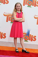 WESTWOOD, CA - OCTOBER 23: Abigail Zoe Lewis at the premiere Of 20th Century Fox's 'Trolls' at Regency Village Theatre on October 23, 2016 in Westwood, California. Credit: David Edwards/MediaPunch