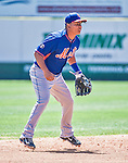13 March 2014: New York Mets infielder Ruben Tejada in action during a Spring Training game against the Washington Nationals at Space Coast Stadium in Viera, Florida. The Mets defeated the Nationals 7-5 in Grapefruit League play. Mandatory Credit: Ed Wolfstein Photo *** RAW (NEF) Image File Available ***
