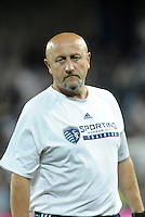 Zoran Savic Sporting KC assistant coach..Sporting Kansas City defeated Philadelphia Union 2-1 at LIVESTRONG Sporting Park, Kansas City, KS.