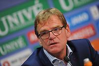 VOETBAL: HEERENVEEN: Abe Lenstra stadion 30-08-2014, SC Heerenveen - FC Utrecht uitslag 3-1, SC Heerenveen Trainer/Coach Dwight Lodeweges, ©foto Martin de Jong